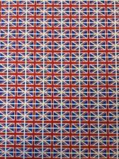 UNION JACK  BRITISH FLAG FABRIC