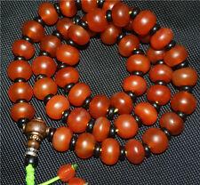 prayer beads bracelet tibetan nanhong antique agate red old carnelian necklace