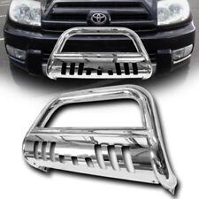 Stainless HD Chrome Bull Bar Push Bumper Guard 03-09 Toyota 4Runner/Lexus GX470