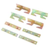 4 juegos de muebles madera cama riel soporte montaje conectores rápidos orifi Np