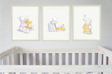 Vivero Pared Arte Humphreys Corner-Conjunto de 3-Baby Shower O Bautizo Regalo