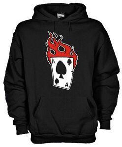 Sweatshirt Games KD01 Poker Ace Of Spades
