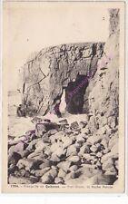 CPA 56170 Quiberon Presqu'île Port Blanc la roche percée Edt Laurent NEL