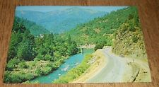 Vintage Postcard Feather River Canyon California Bridge 1969