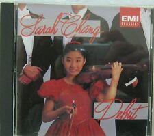 Sarah Chang Debut CD EMI Classics CDC554352 1992