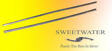 "Sweetwater Pair 3"" 99.99% Pure Silver Wire Rods PROMO Free Colloidal Mail"
