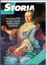 STORIA ILLUSTRATA#NOVEMBRE 1980 N.276#MARIATERESA IMPERATRICE D'EUROPA#Mondadori