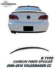 Carbon Fiber Rear Trunk Spoiler Lip For 2008-2016 VW Volkswagen CC Type B