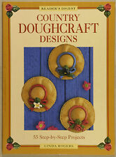 55 Country Doughcraft Designs by Linda Rogers (Paperback, 1997)