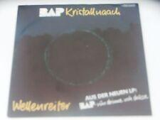 BAP Kristallnaach / Wellenreiter Dutch Sleeve with Lyrics 7 Inch