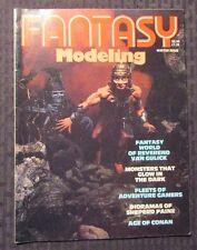 1980 FANTASY MODELING Magazine Winter FN- 5.5 Monster Kits - Age of Conan