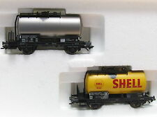 Märklin h0 48541 Caldaia Carrello-Set 2 anziani petroliferi belga carrello B OVP (l6018)