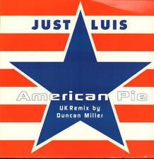"Just Luis(12"" Vinyl P/S)American Pie-Pro-Activ-Ex/New"