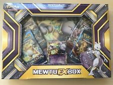 Pokemon Mewtu EX - Dezember 2016 BOX OVP in deutsch (inklusive 4 Booster)!