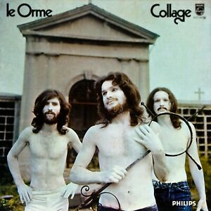 Prog-Rock - Le Orme – Collage (1971) Ita 2nd Pressing 1976, Vinyl/Cover EX+/VG+
