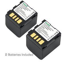 2x Kastar Battery for JVC BN-VF714 GR-D29 GR-D239 GR-D240 GR-D244 GR-D245