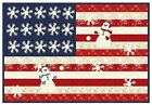 SNOWBERRY+Quilt+Kit+%2B+Quilt+Pattern+%2B+Moda+Patriotic+Fabric+by+3+Sisters