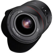 Samyang 24mm F1.8 Auto Focus Compact Full Frame Wide Angle Lens for Sony E Mount