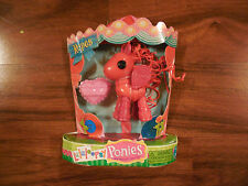 New LaLaLoopsy Ponies Ropes Red Pony in Package