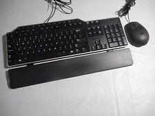 DELL 01RW52 USB Multimedia KEYBOARD and MOUSE Combo W/ Palmrest USB HUB 1RW52