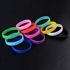 Boy Silicone Bracelet Rubber Basketball Sport Fashion Wristband Cuff Bangle