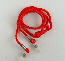 Head Strap Glasses Cord Necklace Nylon Red Glasses Eyelet Transparent