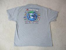 World Baseball Classic Shirt Adult 2Xl Xxl Gray Major League Baseball Mens *