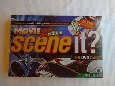 Scene It? Movie 2nd Edition NEW SEALED 2007 DVD Trivia Game Mattel