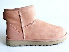 UGG CLASSIC MINI II 1016222 SUNSET SUEDE SHEEPSKIN WOMEN'S BOOTS US SIZE 8