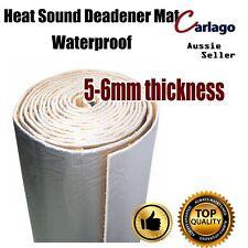 100cm x 80cm Heat Proof Sound Deadener Foam Insulation Adhesive Car Hood Muffler