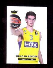 DRAGAN BENDER 2015 Croatian - Maccabi Tel Aviv Israeli Basketball League RC