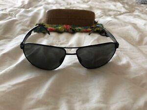 Maui Jim Castle Polarized Sunglasses - Black w/sleeve and case.