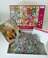 HOP House of Puzzles Den of Antiquity Puzzle Jigsaw 1000 Piece COMPLETE