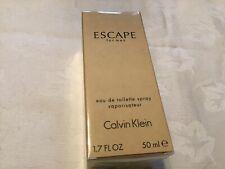 Calvin Klein Escape For Men Eau De Toilette 50ml New Boxed Sealed