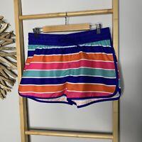 Now Size M 12 Women's Beach Boardshorts Boardies Stripped Togs Swimmers Swimwear