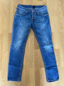 takeshy kurosawa Herren Jeans, Blau, W32 L34
