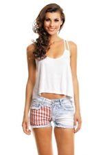 Camisas y tops de mujer blusa de color principal blanco talla 38