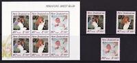 New Zealand - 1989 Health - U/M - SG 1516-1518 + MS1519