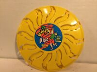 Amloid Whirly Disc Yellow Flying Frisbee