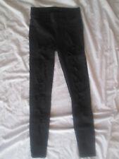 Pantalon Legging très ajouré Taille 34 noir