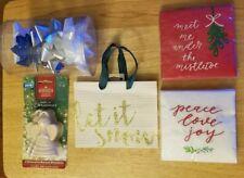 Christmas decorations, ornaments, bag lot NEW (see item description)
