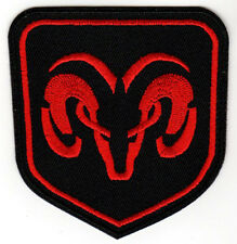 DODGE RAM EMBROIDERED IRON ON PATCH express 1500 rumble bee srt 10 hemi mopar