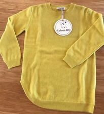 Sweater Dress - 100% Mongolian Cashmere by Cashmere Kids Goyo - 4-5 yr