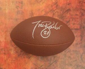GFA New York Giants Running Back TIKI BARBER Signed NFL Football T4 COA