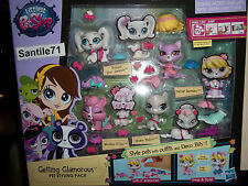 Littlest Pet Shop Princess 3687 3685 3686 Delilah 3684 Getting Glamorous Styling