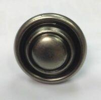 Pewter Knob Handle Cupboard / kitchen Door Button Knob 32mm Antique Effect