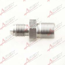 3AN AN-3 AN3 To M12X1.0 Metric Stainless Steel Brake Fittings Adapter
