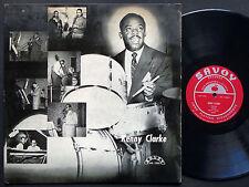 KENNY CLARKE Telefunken Blues LP SAVOY MG 12006 US 1955 RVG DG MONO Milt Jackson