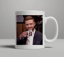 Justin Timberlake Jimmy Fallon Coffee Mug Ultimate Inception 11 oz Free Shipping