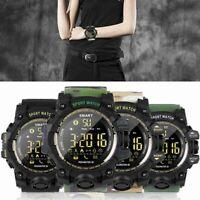 Men Women Sport Smart Watch Fitness Tracker Watch for iOS Android Waterproof